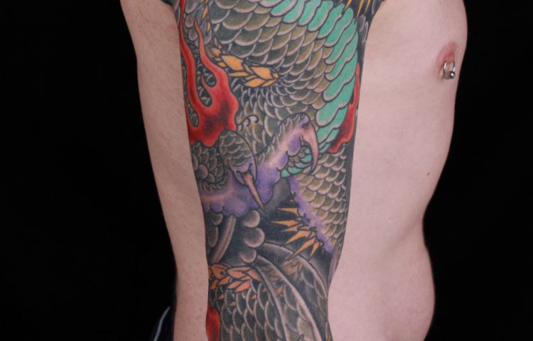 sam-yamini-dedication-tattoo-japanese-dragon-fire-clouds-sleeve-arm