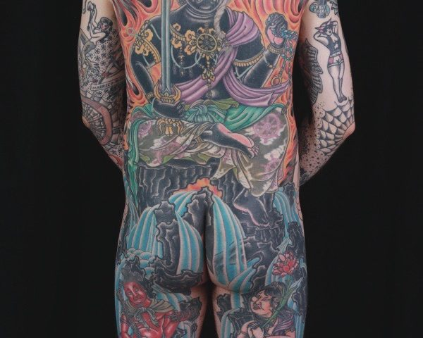 sam-yamini-dedication-tattoo-japanese-fudo-myoo-phoenix-flames-waves-backpiece
