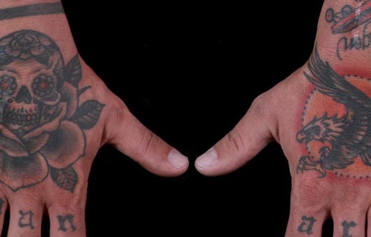 brian-thurow-dedication-tattoo-day-of-the-dead-skull-eagle-hand