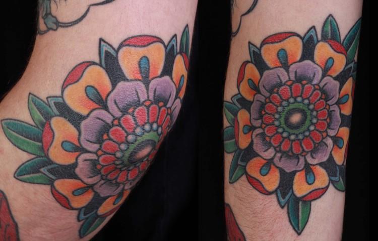 brian-thurow-dedication-tattoo-mandala-flower-elbow