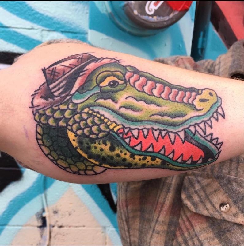 Gator Tattoo