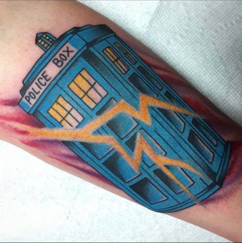 Dr. Who Targus Tattoo
