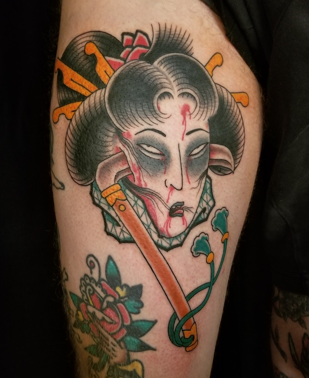 Geisha Namakubi By Sam Yamini