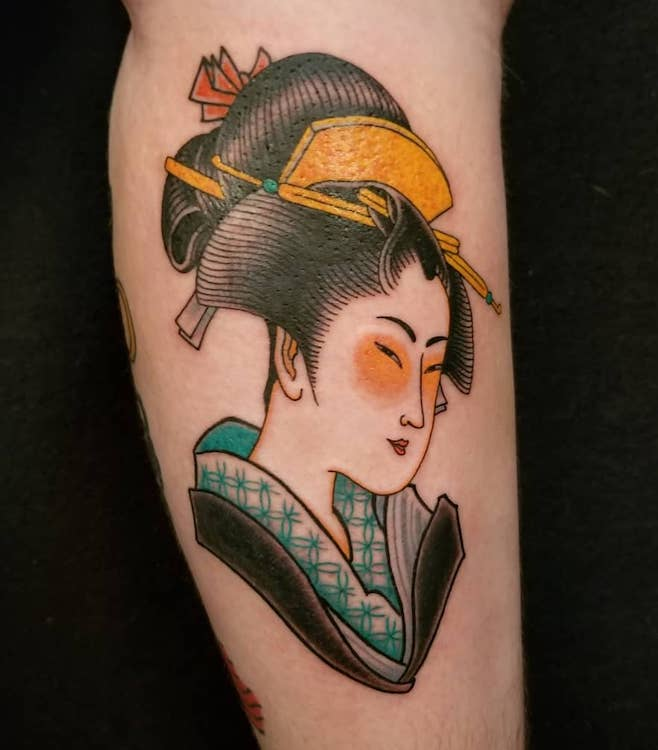 Geisha Girl by Sam Yamini